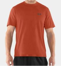 Under Armour Charged Cotton Short Sleeve Tee Shirt (Fox Orange) 1217194-842
