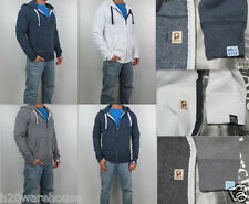 NWT HOLLISTER By Abercrombi​e Men Ventura Beach Full Zip Hoodie Sweatshirt