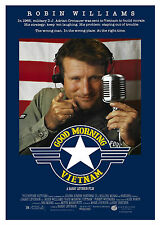 Good Morning Vietnam - A1/A2 Poster **BUY ANY 2 AND GET 1 FREE OFFER**
