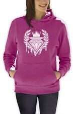 Dripping Diamond ROYAL LOGO Women Hoodie GRAPHIC SKATE URBAN INDIE Hip Hop DOPE