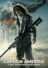 Captain America The Winter Soldier V5 - A1/A2 Poster *BUY ANY 2 AND GET 1 FREE*