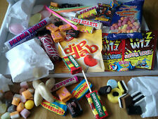 Deluxe Born 70s Personalised Retro Sweets Gift Birthday Present 40th Old Skool
