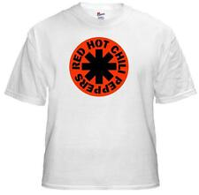 Tee Shirt New Unisex RED HOT CHILI PEPPERS logo on quality cotton t shirt