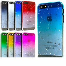 Apple iphone 5 / 5s Case Ultra Thin Raindrop Crystal Clear Cell Phone Hard Cover