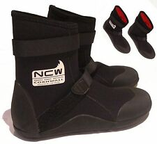5mm thermal lined wetsuit surf boot - all seasons/sizes