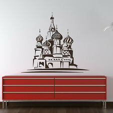 St Basils Cathedral Wall Sticker Landmark Wall Decal Art