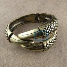 Retro Punk Gothic Metallic Talon Claw Bird Eagle Wraparound Bangle Bracelet Cuff