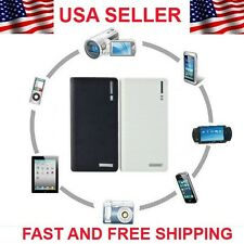 12000mAh Double USB Power Bank External Battery Charger For iPhone 5 FREE CABLE