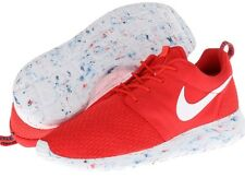 NEW Nike Roshe Run Sneakers Shoes Challenge Red Laser Crimson  Marble Size 6-15
