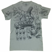 The Simpsons Bart Homer Licensed Graphic T-Shirt New with Tags