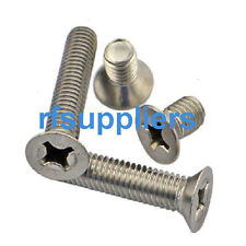 NEW All Kinds of 10-32 Stainless Steel Cross Countersunk Machine Screws Bolts