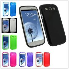 Soft Rubber TPU Gel Silicone Skin Case Cover For Samsung Galaxy S3 S III i9300