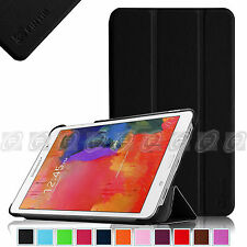Fintie Black Smart Shell Case Cover Stand For Samsung Galaxy Tab & Note Tablet