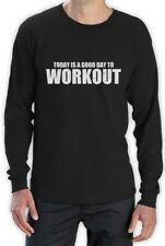 A Good day To Workout Long Sleeve T-Shirt Gym Training Workout Inspiration
