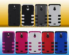 FOR HUAWEI VALIANT Y301 / ASCEND PLUS H881C TUFF HYBRID HARD PHONE CASE COVER