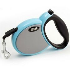 Dog Pet Retractable Leash With Stop -And-Lock Control,3M,4M,5M,Pink or Blue