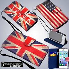 Retro Vintage Stand Pu Leather Flip Wallet Case Cover For iphone 4/4S 5/5S 5C