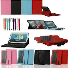 "Universal Bluetooth Keyboard Case For 9.7"" 10.1"" 10.5"" IOS Android Window Tablet"