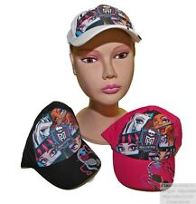 Casquette Fille Monster High ou Violetta Disney Réglable Fashion Pierre-cedric !