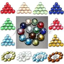 10x/20x 14mm Fish Tank Aquarium vase Decor Landscaping Glass Marbles Beads Balls