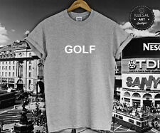 GOLF T SHIRT WANG WOLF TYLER THE CREATOR GOLFILICIOUS OFWGKTA SUPREM UNISEX NEW