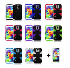 Dynamic Slim Hybrid Cover Case for Samsung Galaxy S5 SM-G900A (AT&T)