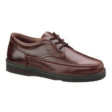 Hush Puppies MALL WALKER Mens Antique Brown Leather Casual Shoes H18915 MP