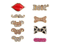 3D Cute Sexy Mouth Home Key Button Sticker For Samsung Galaxy S3 S4 S Note 2 3