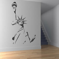 Statue of Liberty Outline Wall Sticker Landmark Wall Decal Art