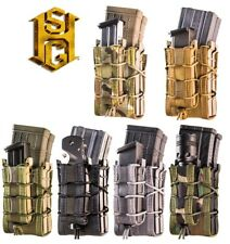 HSGI X2RP Taco Double Rifle & Pistol Magazine Pouch-Multicam-Coyote-O.D-Black