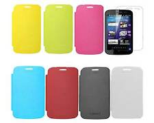 Flip Book  Back Replace Cover Case for Micromax A110 Canvas 2  + Screen