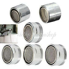 Water Saving Kitchen Faucet Tap Aerator Chrome Nozzle Sprayer Filter Male/Female