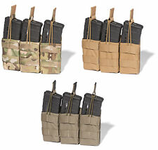 ATS Tactical Slimline MOLLE AR Triple Mag Shingle-Multicam-Kryptek-Coyote-RG-BK
