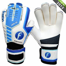 Junior /  Kids  Goalkeeper Goalie Roll Finger Save Gloves Size 4 5 6 7