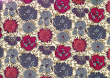 Liberty Poplin Cotton Fabric, 145cm wide, Lucy Daisy print, dressmaking