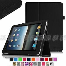 Fintie Slim Folio PU Leather Case Stand Cover for Apple iPad 1 1st Gen Tablet