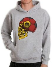 Germany Flag World Cup Skull Hoodie Deutschland Football Soccer National Team