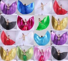 Green NEW Professional Dancing Belly Dance Costume Isis Wings 10 colors