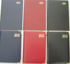 2015 Diary A4/A5/A6 Page A Day/Week to View/Gold Edges/Metal Corners/Hard Back