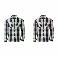 (Free PnP) Tokyo Laundry Mens Flannel Checked Long Sleeve Casual Shirt S-XL