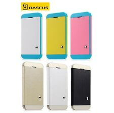 BASEUS Luxury Smart Cover High Quality PU Leather Flip Case For Iphone 5 5s
