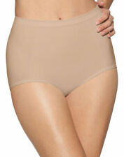 Bali Women's Knit In Waistband Seamless Extra Firm Control Brief, 2-Pack. X245