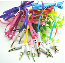 9 Colors 3ft 3.5mm Male to Male Stereo Audio AUX Cable for PC iPod MP3 MP4 DVD