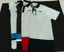 Men's Lacoste Sport Andy Roddick 100% Polyester Tennis Golf Shirt MED-XXL NWT