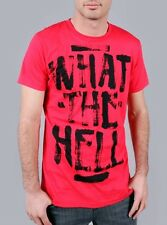 ABBEY DAWN WHAT THE HELL RED TEE / T-SHIRT / TOP (B8C)