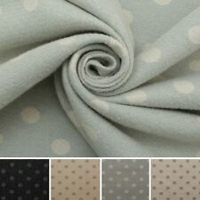DELUXE SOFT DOT PASTEL SPOT TRADITIONAL WOOL MOON LOOK UPHOLSTERY CUSHION FABRIC