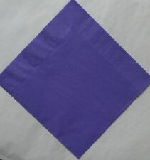 50 top quality 40cm 3 ply Purple napkins Other colours available