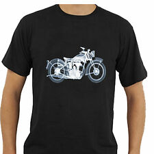 X-Ray T-Shirt Vintage Motorbike Bike Unique Tee Inspired Harley BSA