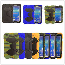 Hot New Armor Shockproof Military Case For Samsung Galaxy Tab 3 7.0 Tablet P3200