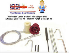 Cables Wires, Henderson Merlin Parts Spares Up & Over Garage Door, Repair Tools